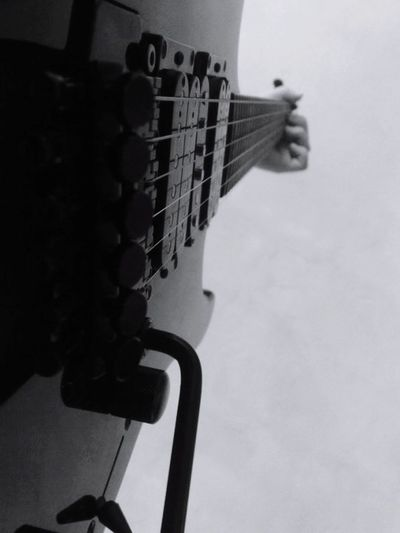 Guitar Musical Instrument Playing Fretboard Electric Guitar Musical Instrument String Music Skill