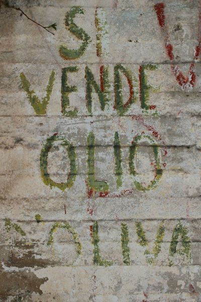 Ispica  Sicilia Signs Handwritten Sign Writing Text Graffiti Outdoors No People Close-up Textures And Surfaces Agrarian Farming