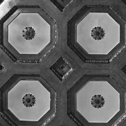 Ceiling Detail Pattern No People Symmetry Indoors  Close-up Day