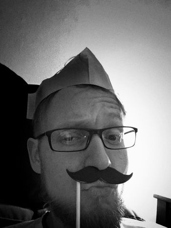 Weihnachten MerryChristmas Its Me Selfportrait Taking Photos Blackandwhite Mustache Oldschool Enjoying Life Merry Christmas