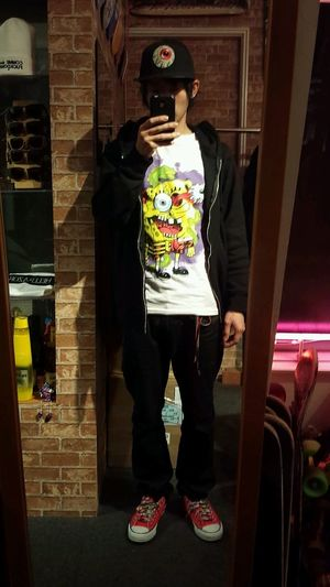 mishka×spongebob Mishka Keepwatch Fashion Spongebob