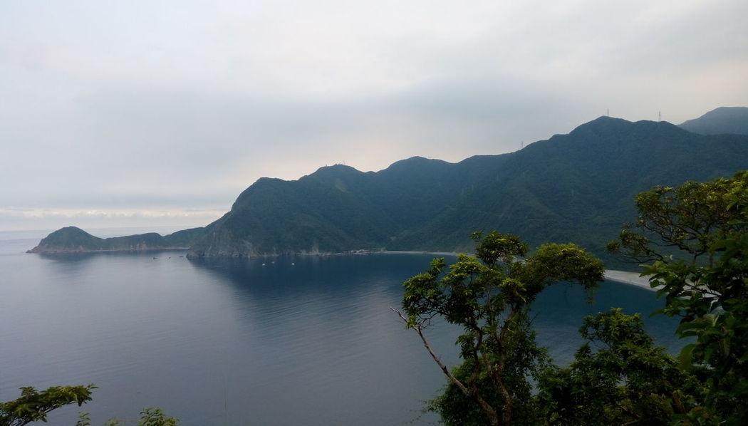 Beauty In Nature Landscape Mountain Nature Non-urban Scene Sea Taiwan Taiwan Beach Taiwan Landscape Tree Water Yilan