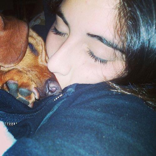 I love you baby <3 Pet Agustina Doglover