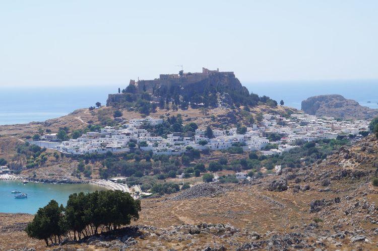 Greece Lindos Rhodes Rhodos