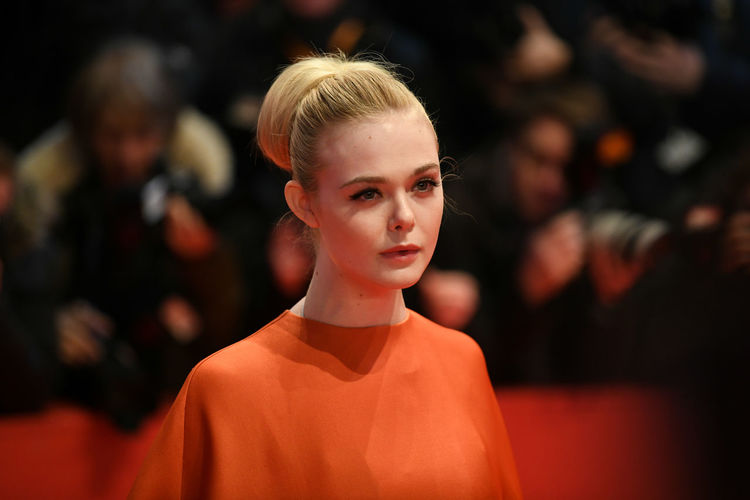 Berlin, Germany - February 15, 2018: American actress Elle Fanning on the red carpet at the 68th Berlinale International Film Festival premiere of the movie Isle Of Dogs Actors Event Fashion Film Festival Premiere Actress Arts Arts Culture And Entertainment Berlinale Berlinale 2018 Berlinale Festival Berlinale2018 Blond Hair Elle Fanning Entertainment Entertainment Event Fashion Fashion Model Focus On Foreground People Portrait Red Carpet Star Testimonial Young Adult