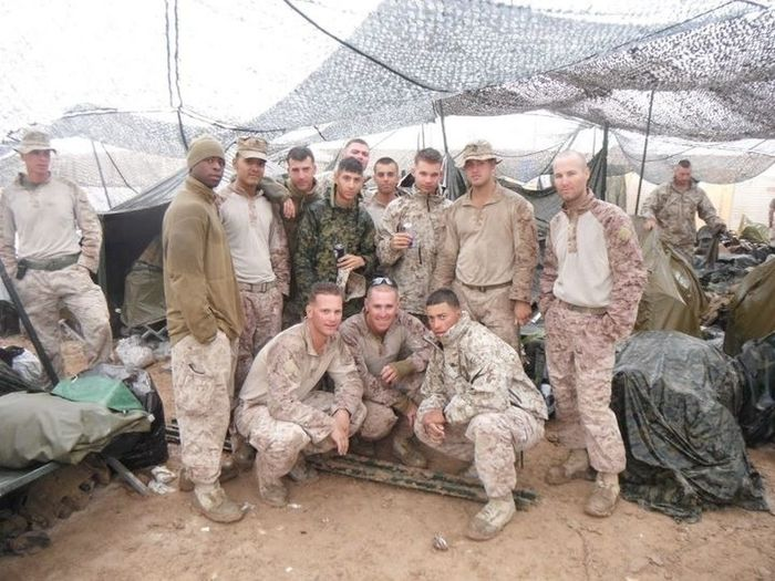 Miserable, but nowhere we'd rather be. Afghanistan Operationenduringfreedom USMC Oef Military Combat Vet