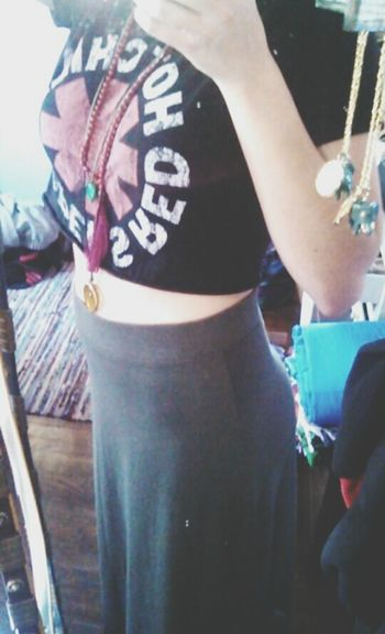 Red Hot Redhotchilipeppers Ootd ✌ CropTop Mirrorselfie Photooftheday
