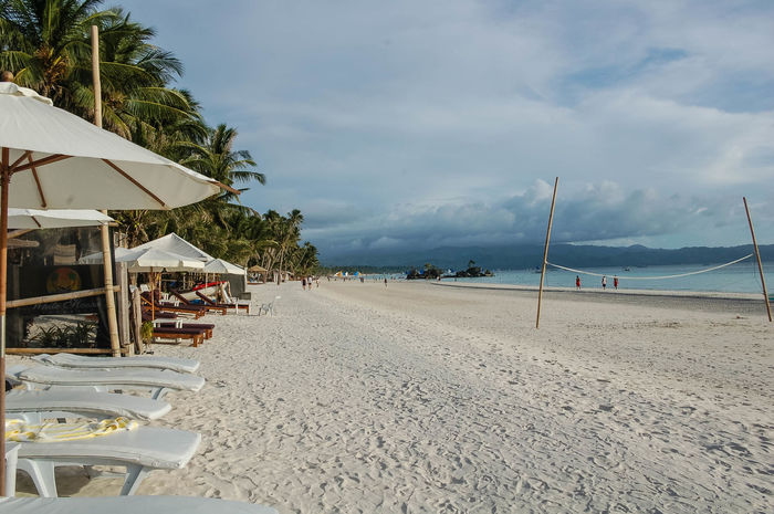 ASIA Beach Boracay Cloud - Sky Nature Palm Tree Philippines Relaxation Sand Sand Dune Sandy Sea Sky Storm Clouds Topical Tourism Tourist Resort Tranquility Travel Travel Destinations Tropical Climate Vacations Water White Sand Beach