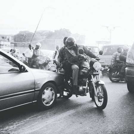 In Lagos,Nigeria motortaxis are the best way to get around🚲 Lagos Welltravelled EyeEm Best Shots Africa Check This Out Yolo Amazingplaces Travel See What I See Life Travelife Wanderlust Travelinspiration Blacktravelers Blackandwhite
