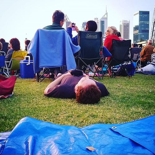 The guy is seriously affected by the concert. 🎼🎶🎻👍😁 Perth Waso Symphonyinthepark Symphonyinthecity Chemodiver Perthlife Langleypark Perthcity Perthisok Cityofintroverts Humansofperth