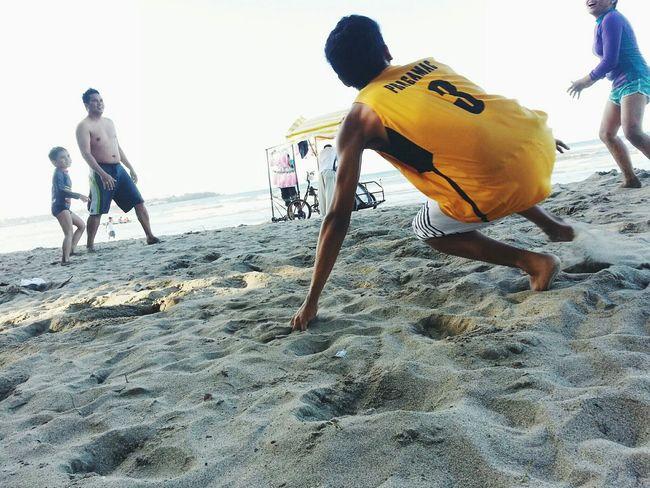 In action Eyeem Philippines Beachphotography Beach Photography Play People People Photography