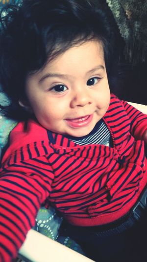 The love of my life. My Baby My Son :) Six Months Baby Teeth