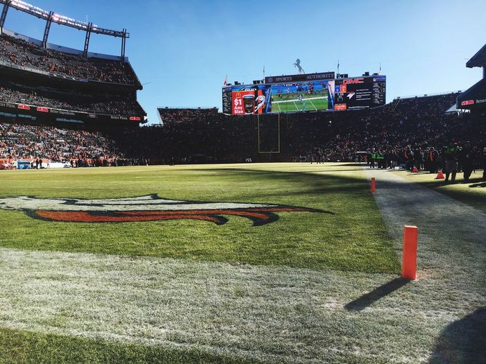 Mile High - Sports Authority Field- Denver, CO Mile High 303 Colorado Denver Atmosphere Denver Broncos NFL Football