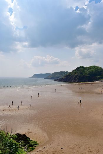 Taking Photos Sunnyday... Sand People Sea Beach Nikon D5500