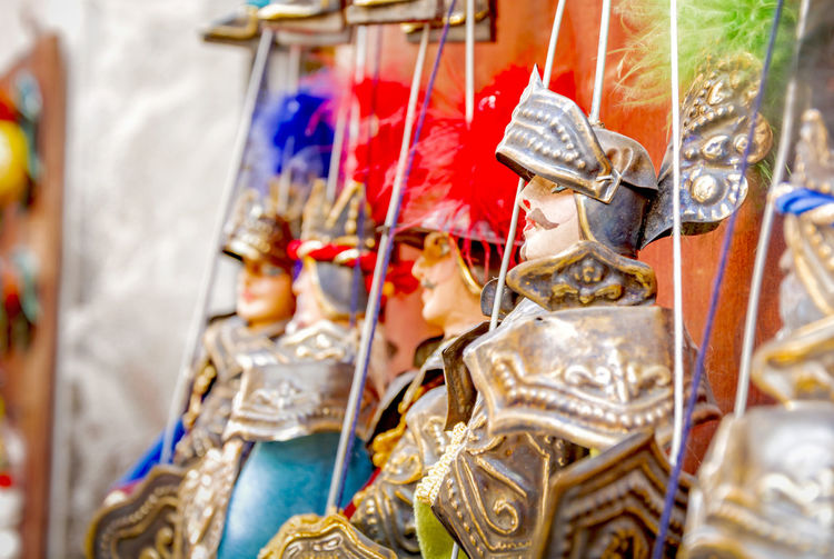 Artistic Sicily Soldier Tradition Travel Typical Art And Craft Culture Focus On Foreground Folklore Hanging Human Representation Italian Italy Italy❤️ Marionette Multi Colored Pupi Siciliani Puppet Representation Selective Focus Sicilian Storyteller Tourism