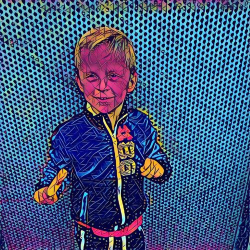 One Person Child Prisma People Colorful