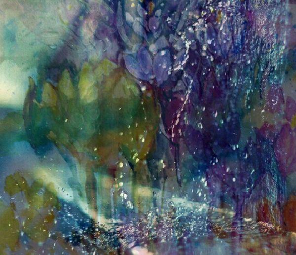 Watercolour Rember Spring(crocuses)+Photo blendet Flower Power EyeEm Hd Wallpapers EyeEm Nature Lover Change Your Perspective