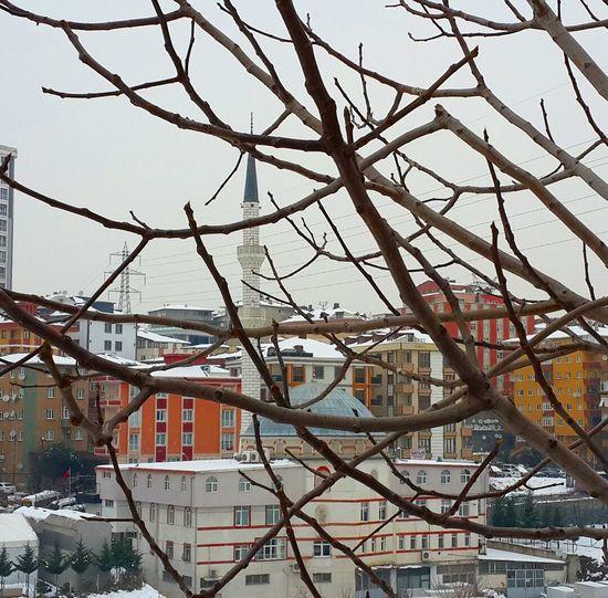 Soyak Yenisehir Umraniye çakmak Camii Kar Beyaz Soguk Istanbuldayasam Istanbul Turkey