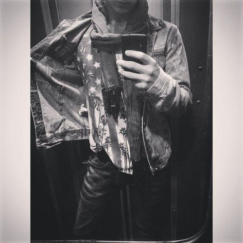 ✈🔝✈ OneLove USA America Style Americanstyle Americanshirt Americandream Americanshot Blackandwhite Dream Dreams Love Americanflag USAflag Americanflags Stylish Denimjacket Denim