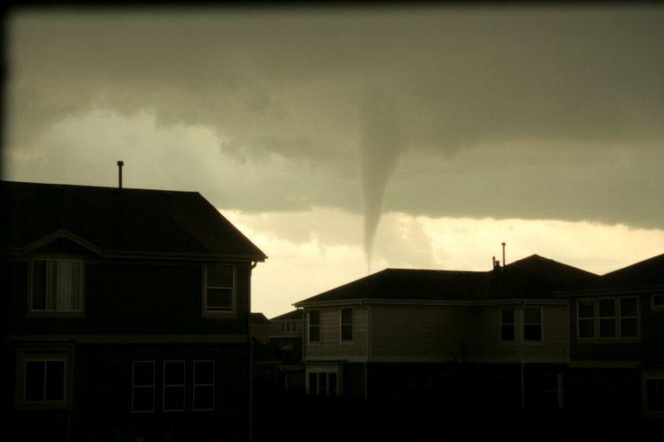 Colorado Tornado Weather Ominous Sky Storms Dark Sky Dangerous