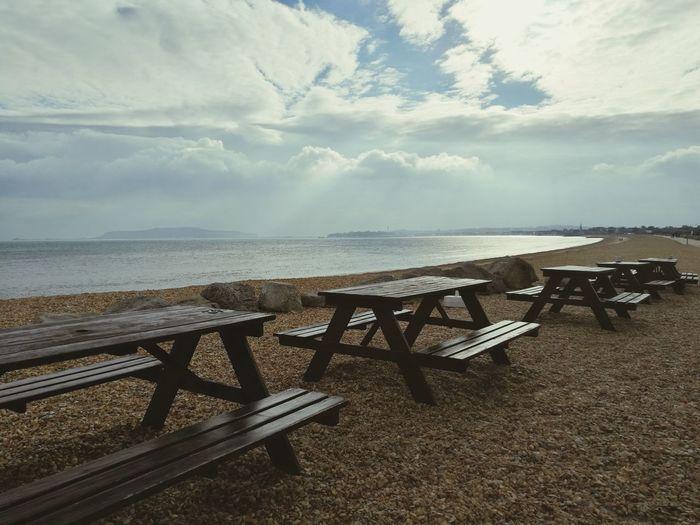 Sea Beach Outdoors No People Beauty In Nature Capture The Moment EyeEm Best Shots Nature Cloud - Sky Autumnsun