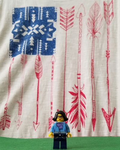 October 26-My Country Fmsphotoaday Native Lands USA United States No Dapl Chiricahua LEGO Minifigure Sigfig Hispalego