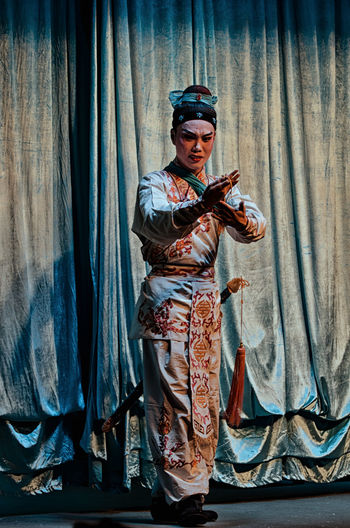 Hungry ghost festival - Chaozhou opera Opéra The Week On EyeEm Tradition Actor Adult Arts Culture And Entertainment Backstage Chaozhou Chinese Chinese Opera Chinise Tradition Chiu Chow Costume Costumes Curtain Hungry Ghost Hungry Ghost Festival One Person Performance Portrait Stage Costume Standing Theatre Theatrical Performance