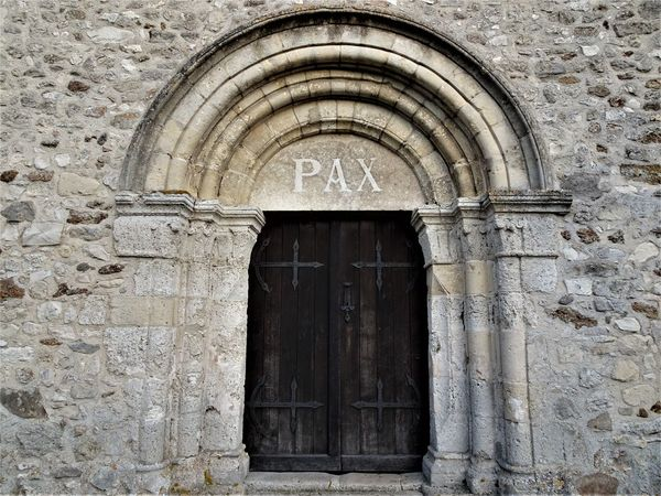 Arch Architecture Building Exterior Built Structure Church Day Door Entrance No People Outdoors Paece Pax