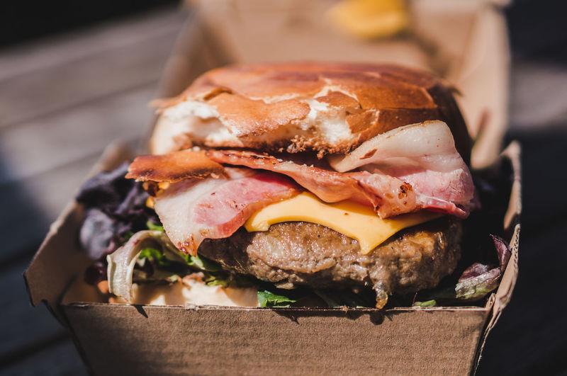 Beef Burger in