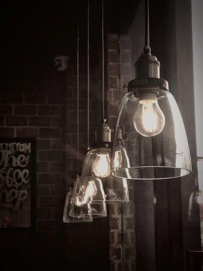 Light Lighting Equipment Light And Shadow Light In The Darkness Light Lamp Downlights Coffee Building Exterior Interior Illuminated Light Bulb Indoors