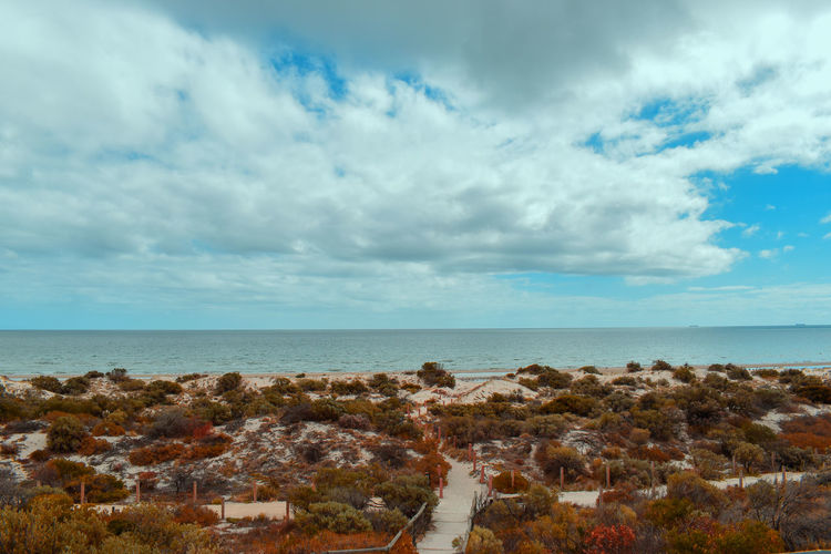 Tennyson Dunes, Adelaide, South Australia Sky Cloud - Sky Sea Horizon Horizon Over Water Water Scenics - Nature Beauty In Nature Tranquility Nature Tranquil Scene No People Day Land Architecture Beach Blue Outdoors Travel Destinations Adelaide