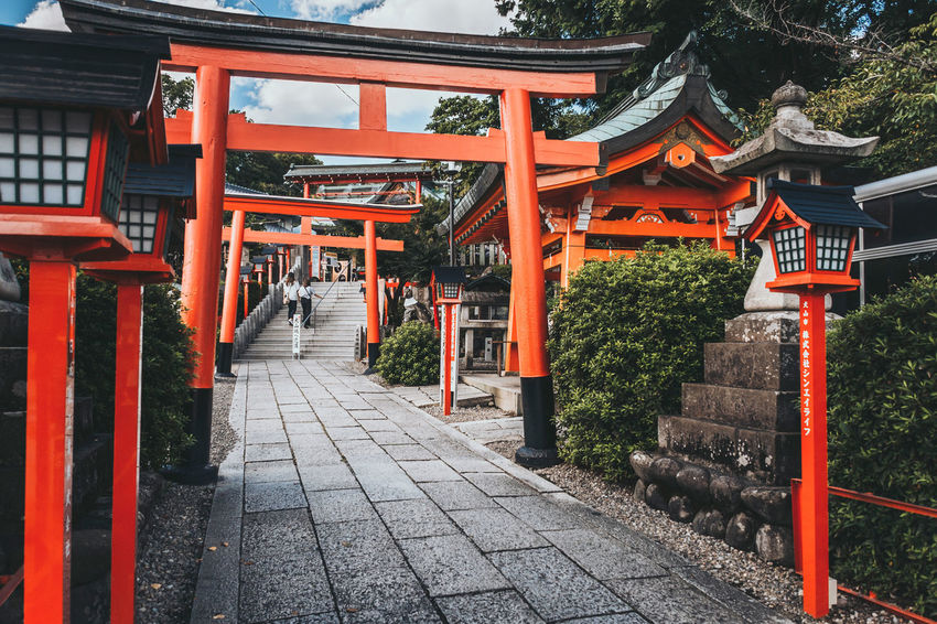 Shrine Inuyama Japan Japanese  TORII Travel Trip Architecture Building Exterior Built Structure Cultures Place Of Worship Red Religion Shrine Spirituality The Way Forward Travel Destinations 日本 犬山 神社 鳥居