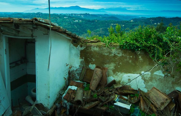 Toiano Abandoned City Tuscany Nohuman Nopeople Trip Prospective House Forgetplaces Nikon 3100 Miles Away