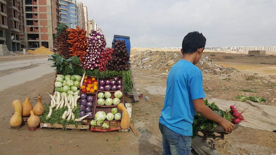 Outdoors Vegetable Market Food Egypt égypte