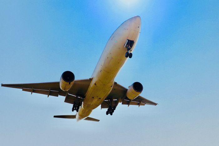 伊丹空港千里川堤防 伊丹空港 千里川 Air Vehicle Airplane Transportation Flying Sky Mode Of Transportation Travel