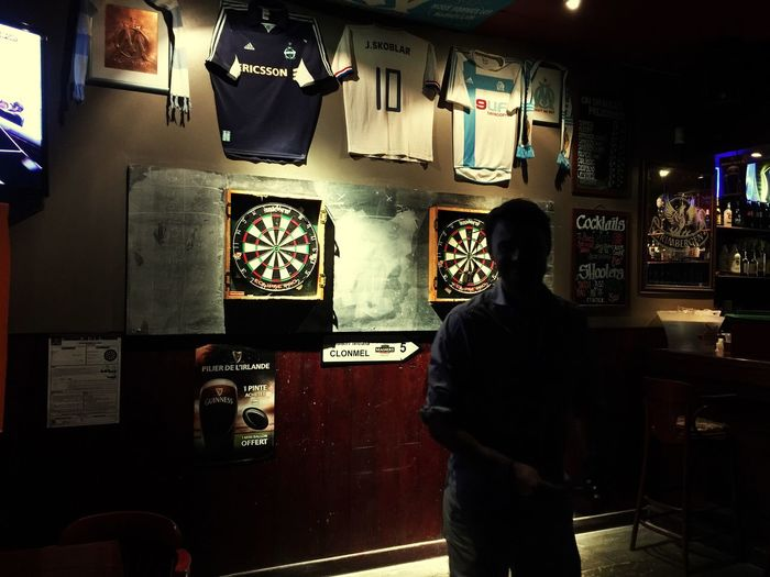Bull eye ! Pub Marseille Celticbhoys Sortie Night Dare