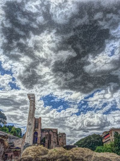 Haunted houses in the clouds. Italy Rome IPSWeather Iphoneonly Iphonephotography IPhoneography