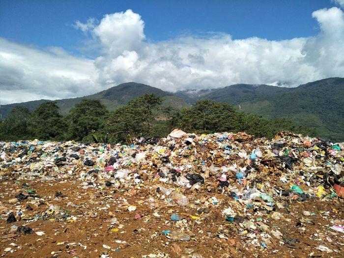 leavings Leavings Trash Cloud - Sky Mountain Sky Mountain Range Day No People Outdoors Tree Landscape