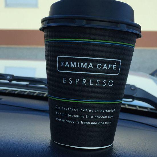 ファミマで珈琲 Foodporn Coffee Time Familymart