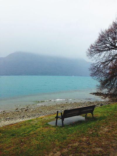 Wakatipu Lake Outdoors Mountain Nature Water Tranquility Newzealand New Zealand Scenery