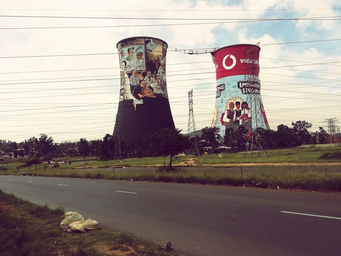 Soweto Two Towers View From Below Outdoor Photography No People Sky Outdoors Nature Day