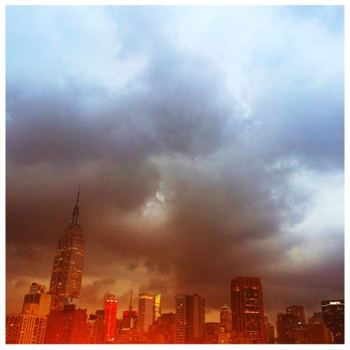 Dramatic Sky Tadaa Community Empire State Building Clouds And Sky EyeEm_crew