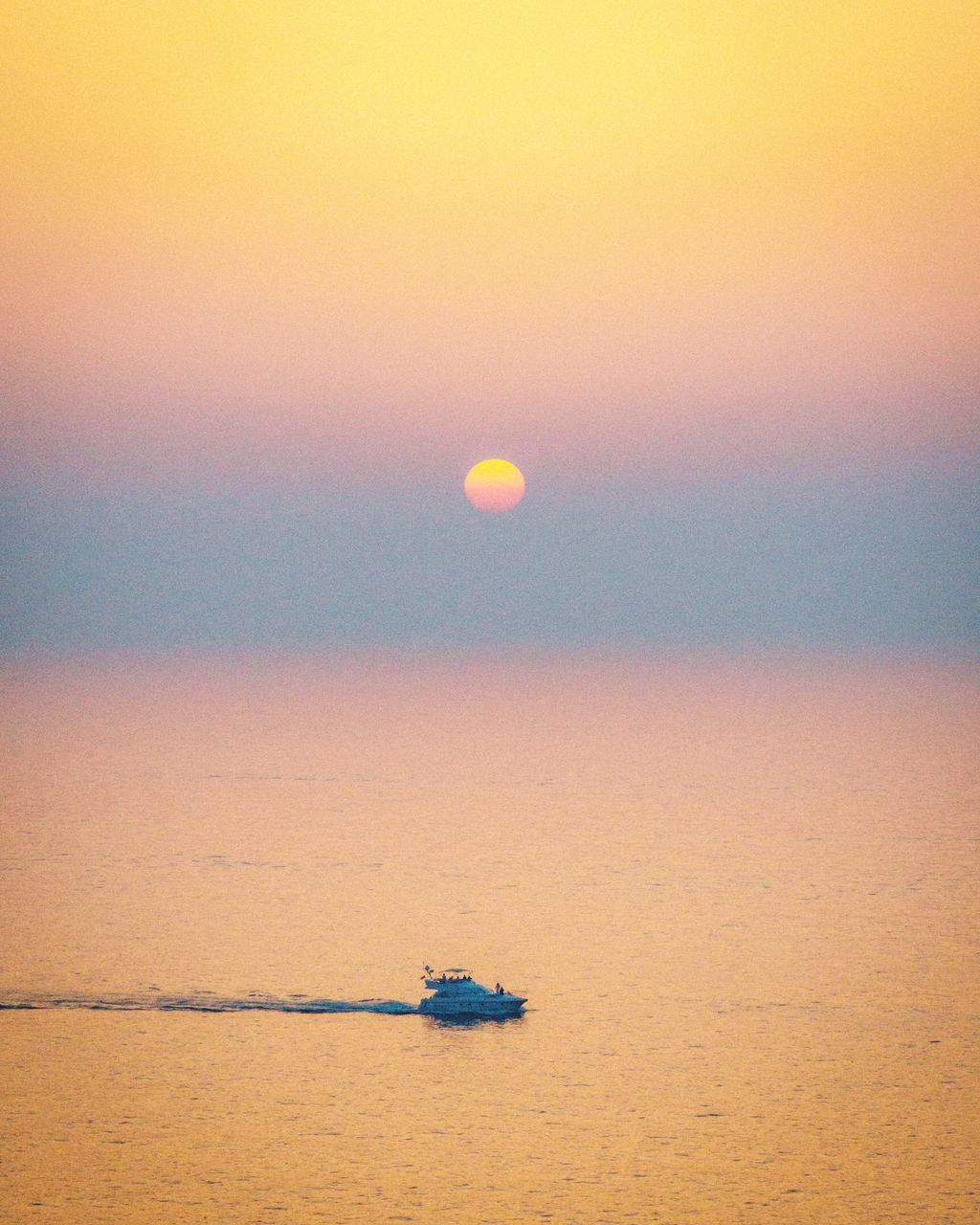 sunset, sea, water, nautical vessel, scenics, nature, transportation, beauty in nature, waterfront, tranquility, sky, outdoors, horizon over water, no people, tranquil scene, sun, day