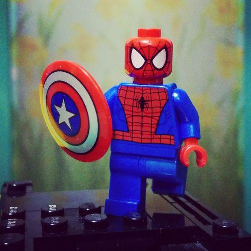 Hey~ Let's have some Civil War fun! LEGO Civil War Spiderman Spidey 樂高 積木 內戰 蜘蛛俠 蜘蛛人 美國隊長