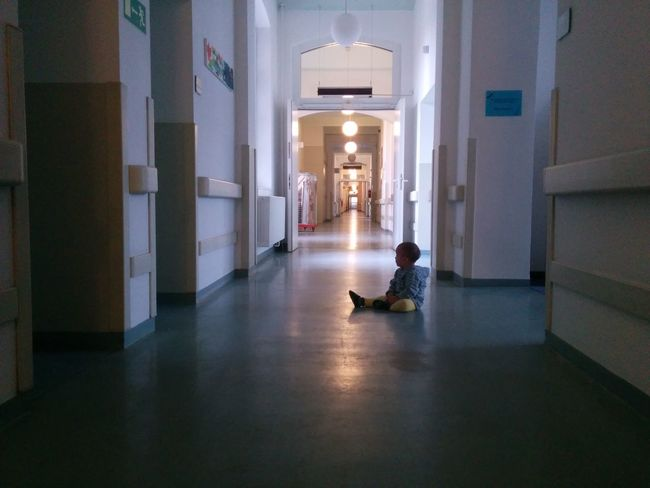Architecture Baby Built Structure Child Contrast Floor Flooring Indoors  Lonely Relaxation Sitting