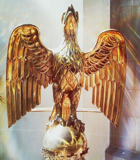 Eagle statue in