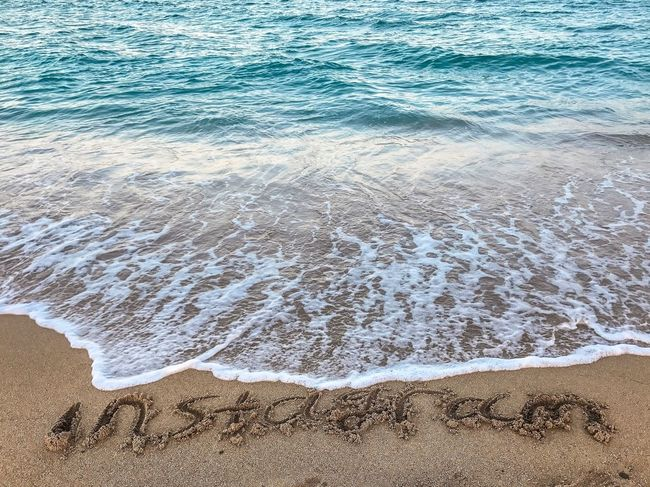 Sommergefühle Beach Sand Water Sea No People Nature Wave Outdoors Day Beauty In Nature