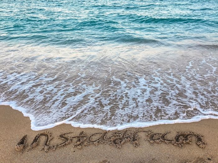 Beach Sand Water Sea No People Nature Wave Outdoors Day Beauty In Nature EyeEmNewHere Freshness Clear Sky Beauty In Nature