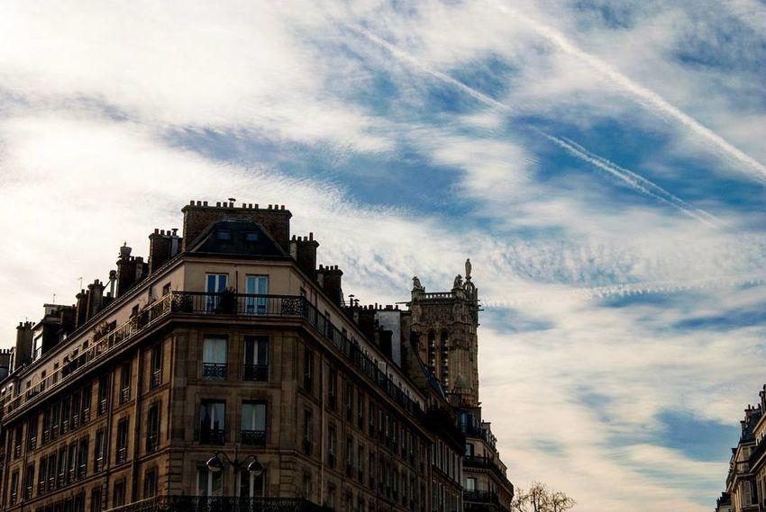 France Sky Architecture Building Exterior Cloud - Sky No People Built Structure Outdoors Day Paris