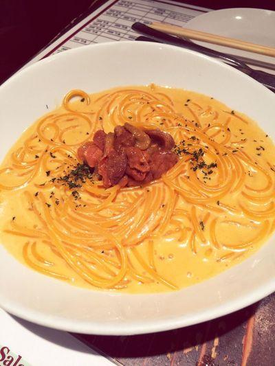 雲丹 Seaurchin Pasta Recommended Italian 難波